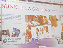 Commission launches Science: it's a girl thing! campaign