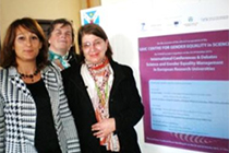 International presences at the inauguration of the UAIC Centre for Gender Equality in Science
