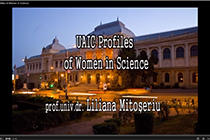 "Producing the First promotional film within the series ""UAIC Profiles of Women in Science"""