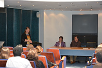 Info-Day: Open course about professional perspectives in the graduation day