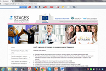 Launch the website of the STAGES project at the UAIC