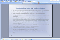 Legal Arrangements for Work-Life Balance measures in Romania