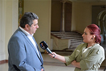 "TV Report on the documentary exhibition ""UAIC – A Place for Women in Science"""