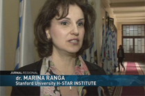 TV report on the public event Women Researchers Day 2015 at the UAIC