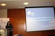 Structural Change Promoting Gender Equality