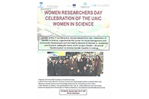Public event: Women Researchers Day. Awards for excellence in science