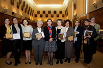 "The nominees of the ""UAIC's Annual Excellence Awards for Women in Science"", second edition 2014"