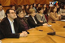 "TV report on the public event ""European Women Researchers Day 2014"" at the UAIC"